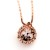 Essential Oil Diffuser Necklace Rose Gold Small - Izzybell Jewelry