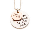 26.2K, She believed she could so she did - Izzybell Jewelry